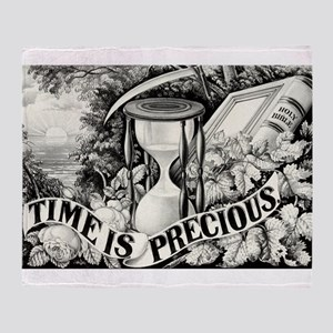 Time is precious - 1872 Throw Blanket