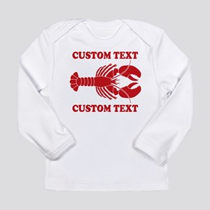 CUSTOM TEXT Lobster Long Sleeve T-Shirt