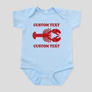 CUSTOM TEXT Lobster Body Suit