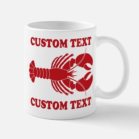 CUSTOM TEXT Lobster Mug