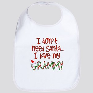 Don't need Santa, Have my Grammy Bib