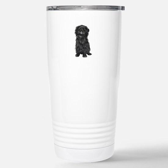 Affenpinscher (blk) Stainless Steel Travel Mug