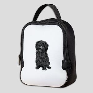 Affenpinscher (blk) Neoprene Lunch Bag