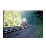 Conrail Office Car Train Postcards (Package of 8)