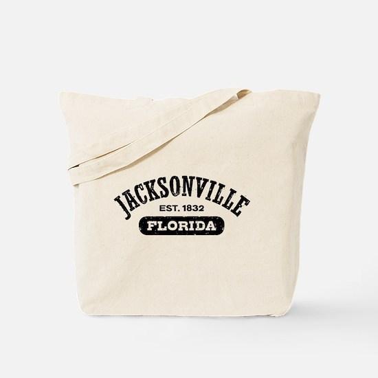 Jacksonville Florida Est. 1832 Tote Bag