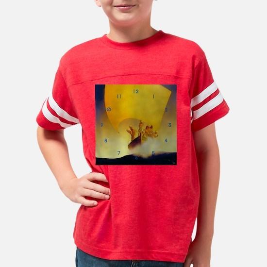 parrishcodadaclock Youth Football Shirt