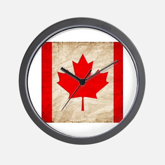 Funny Leafs nation Wall Clock