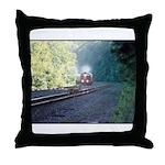 Conrail Office Car Train Throw Pillow