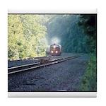 Conrail Office Car Train Tile Coaster