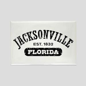 Jacksonville Florida Est. 1832 Rectangle Magnet