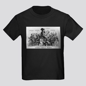 A nice family party - 1872 Kids Dark T-Shirt