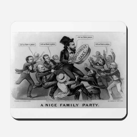 A nice family party - 1872 Mousepad