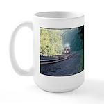 Conrail Office Car Train Large Mug