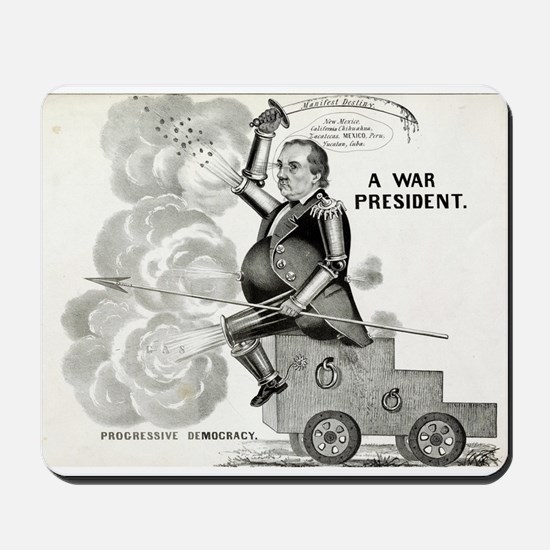 A war president. Progressive democracy - 1848 Mous