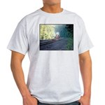 Conrail Office Car Train Ash Grey T-Shirt