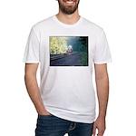Conrail Office Car Train Fitted T-Shirt