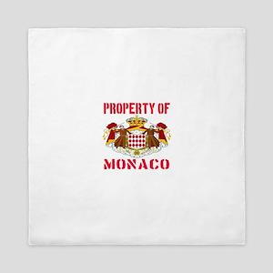 Property of Monaco Queen Duvet