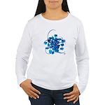 Atom Sea #9 Women's Long Sleeve T-Shirt