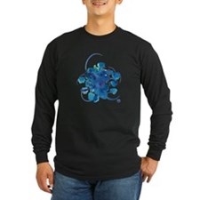 Atom Sea #9 Long Sleeve Dark T-Shirt