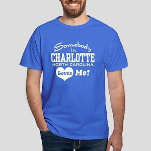 Charlotte North Carolina Dark T-Shirt