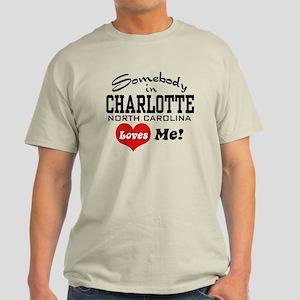 Charlotte North Carolina Light T-Shirt