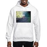 Conrail Office Car Train Hooded Sweatshirt