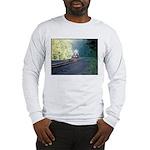 Conrail Office Car Train Long Sleeve T-Shirt