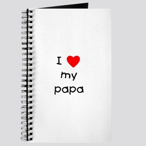 I love my papa Journal