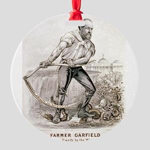 Farmer Garfield - Cutting a swath to the White Hou