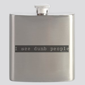 I see dumb people Flask