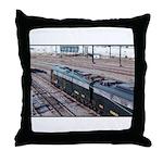 Conrail OCS Train Throw Pillow