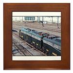 Conrail OCS Train Framed Tile
