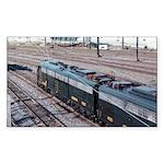 Conrail OCS Train Rectangle Sticker
