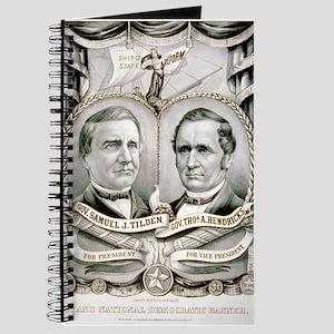 Grand National Democratic banner - 1876 Journal