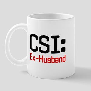CSI: Ex-Husband Mug