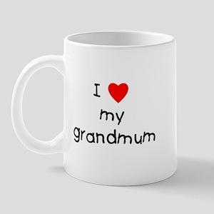 I love my grandmum Mug