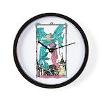 Dragon & Maiden Wall Clock