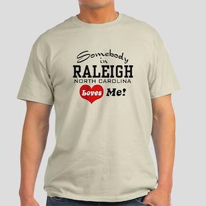 Raleigh North Carolina Light T-Shirt