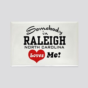 Raleigh North Carolina Rectangle Magnet