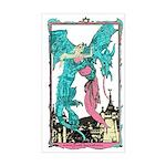 Dragon & Maiden Rectangle Sticker