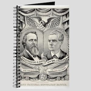 Grand National Republican banner - 1876 Journal