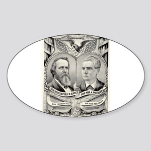 Grand National Republican banner - 1876 Sticker (O