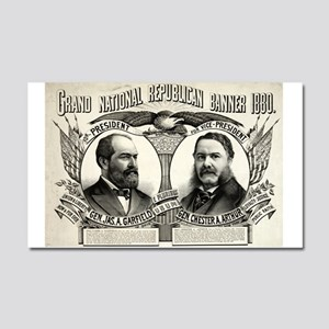 Grand national Republican banner 1880 - 1880 Car M