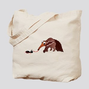Anteater Meets His Lunch Tote Bag