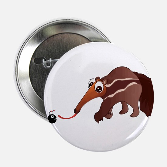 "Anteater Meets His Lunch 2.25"" Button"