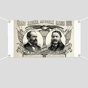 Grand national Republican banner 1880 - 1880 Banne
