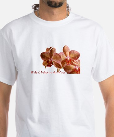 Wild Orchid White T-Shirt