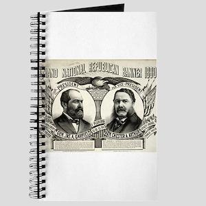 Grand national Republican banner 1880 - 1880 Journ