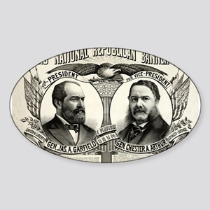 Grand national Republican banner 1880 - 1880 Stick