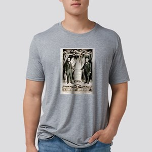 Grand national union banner for 1860 - 1860 Mens T